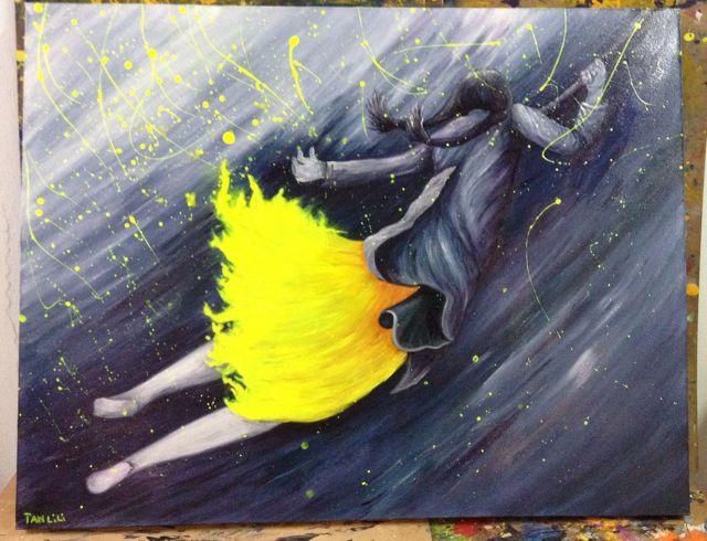 Girl In Yellow Dress
