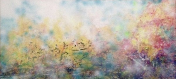 'Shoulda brought my hat' - abstract landscape and light by Li Li Tan, artist from Singapore